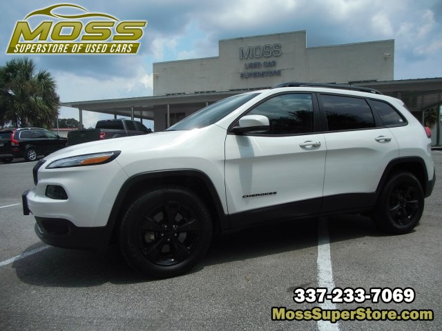 Pre-Owned 2016 Jeep Cherokee High Altitude
