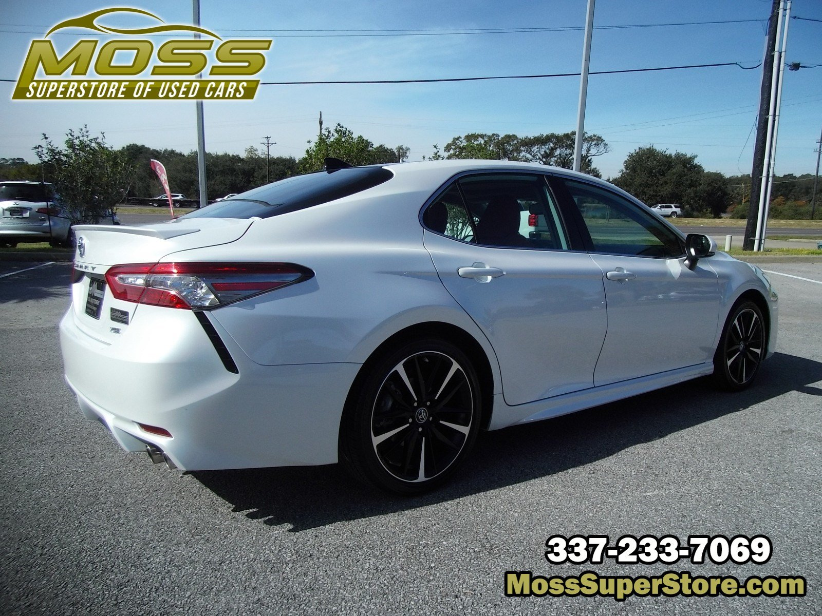 Pre-Owned 2019 Toyota Camry XSE